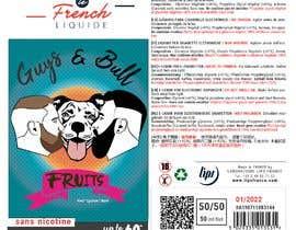 Nro 37 kilpailuun Creation of a design which will be use on label for e-liquid bottle käyttäjältä artbogz