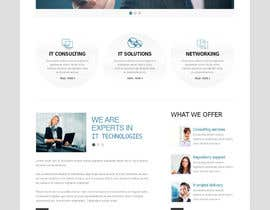 #20 para Wordpress Theme Design for IT Tech Support Help $650 to $1000 por chinnapd007