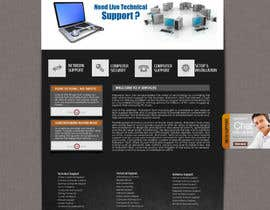#17 para Wordpress Theme Design for IT Tech Support Help $650 to $1000 por fransievn