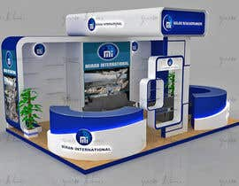 #2 for 3D exhibition stand by Creative3dArtist
