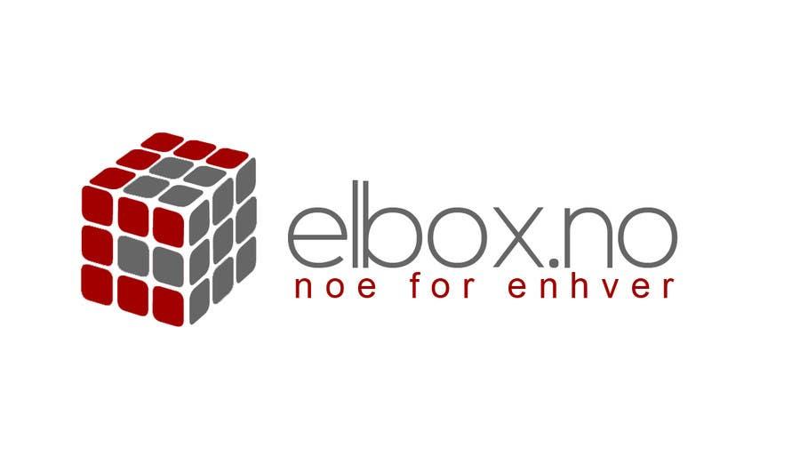 Inscrição nº 9 do Concurso para Logo design for www.elbox.no