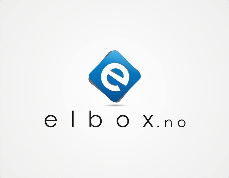 Inscrição nº 66 do Concurso para Logo design for www.elbox.no