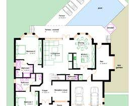 #16 для Design CAD floor plans, site plan and elevations for a large house от anamgaina