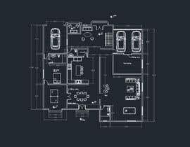 #14 для Design CAD floor plans, site plan and elevations for a large house от juancmyt21