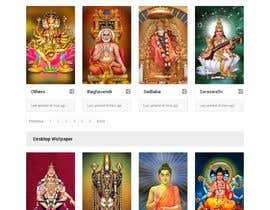 #21 для Require a fantastic design for spiritual wallpapers website от Haider501