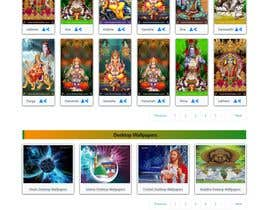 #22 для Require a fantastic design for spiritual wallpapers website от jonisutradhor