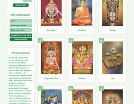 #29 для Require a fantastic design for spiritual wallpapers website от Nartan99