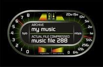 design mockup of 7-Zip compression dialog window için Graphic Design4 No.lu Yarışma Girdisi