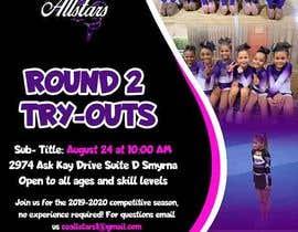 #13 untuk Create a cheerleading flyer oleh maidang34