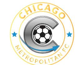 #12 для I need a logo with the wording Chicago Metropolitan FC Since 2020 that mix the two logos on file and keep the c with ball. Main colors should be Royal blue, Yellow and Dark gray. от oumomenmr