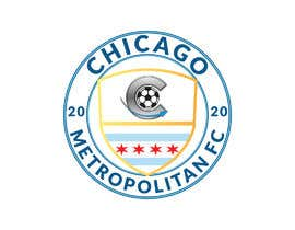#20 для I need a logo with the wording Chicago Metropolitan FC Since 2020 that mix the two logos on file and keep the c with ball. Main colors should be Royal blue, Yellow and Dark gray. от oumomenmr