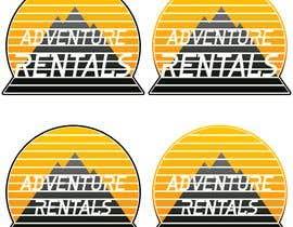 Nro 14 kilpailuun Adventure Rentals Logo & Business Card käyttäjältä fhoshika