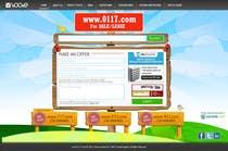 Graphic Design Inscrição do Concurso Nº1 para Website Design for Index / Home Page Only psd file