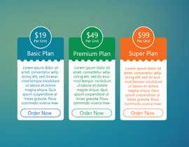 #11 for Design pricing table by MamunHossainM