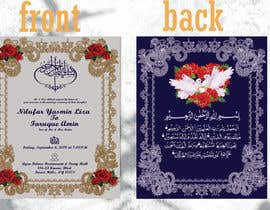 #71 for Invitation Cards by mHussain77