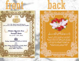 #72 for Invitation Cards by mHussain77