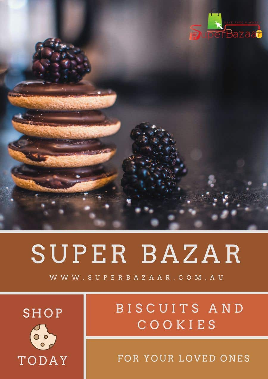 Proposition n°11 du concours https://www.superbazaar.com.au/  One Poster editing AND Two Banners to be created. Logo and existing file for poster will be shared in chat.