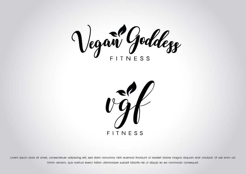 Konkurrenceindlæg #105 for Create Logo For Vegan Goddess Fitness Coaching