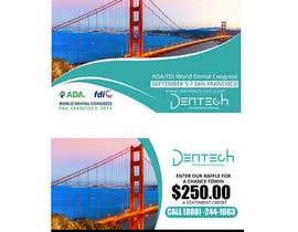 Nro 18 kilpailuun Design a professional flyer/postcard for an upcoming conference show käyttäjältä maidang34