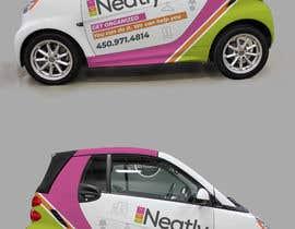Nro 9 kilpailuun Design a Vehicle Wrap For Home Organizing Company On Smart Car käyttäjältä ravi05july