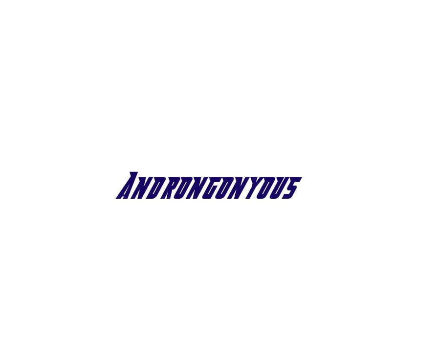 Конкурсная заявка №78 для please create a logo for a company called androngonyous