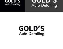 """#78 for Need a logo for my company """"Gold's Auto Detailing"""" by athenaagyz"""