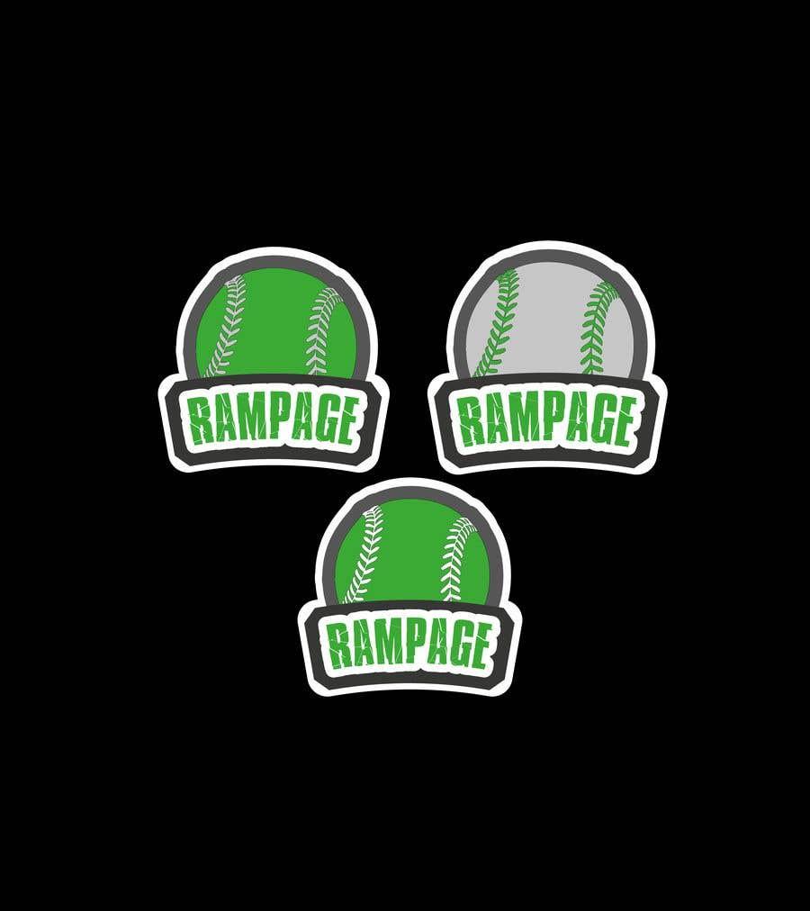 Penyertaan Peraduan #23 untuk Softball Team Logo