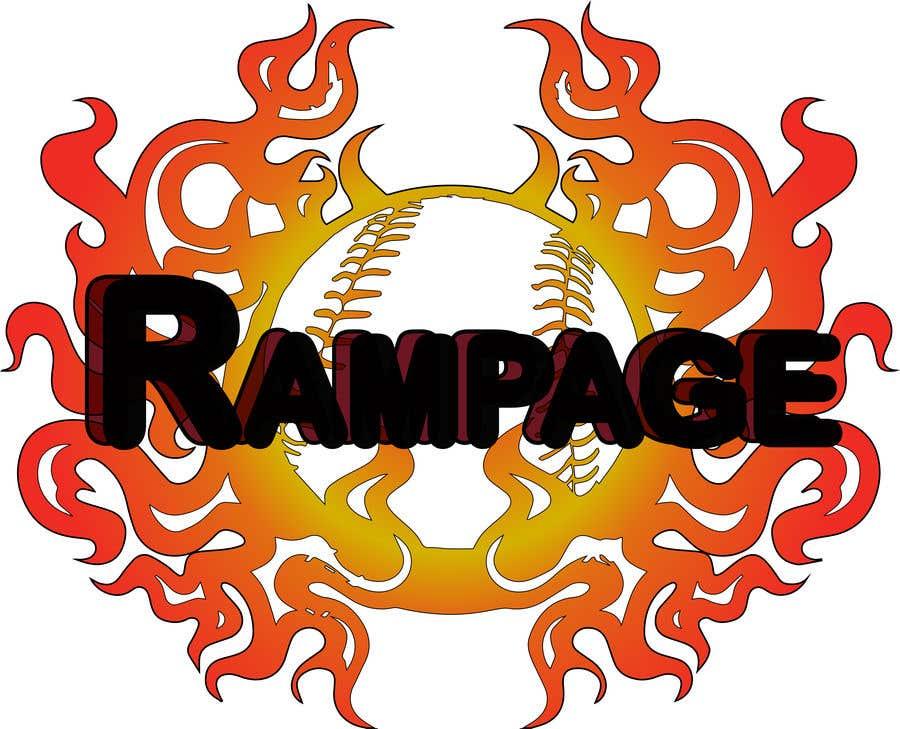 Penyertaan Peraduan #21 untuk Softball Team Logo