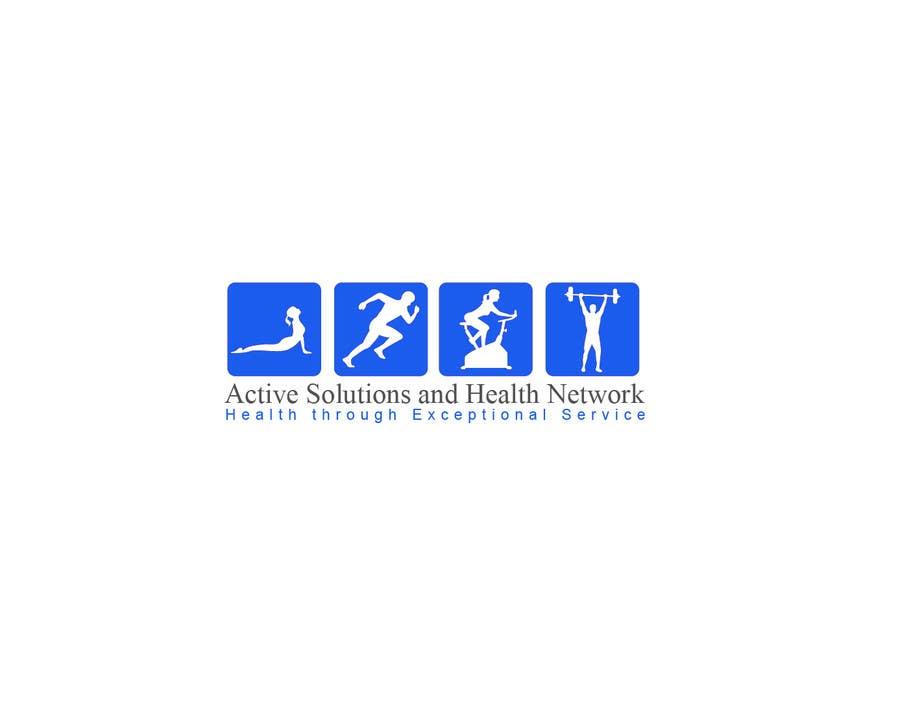 Inscrição nº                                         1                                      do Concurso para                                         Logo Design for Active Solutions and Health Network