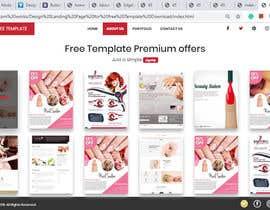 #14 для Design Landing Page for free Template Download від kamalbd2014