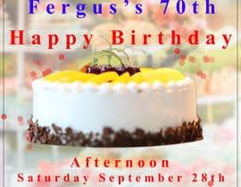 #11 для 70th birthday invite від USAmakhan099
