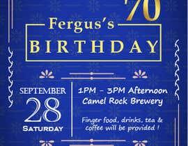 #18 для 70th birthday invite від scarlettng95