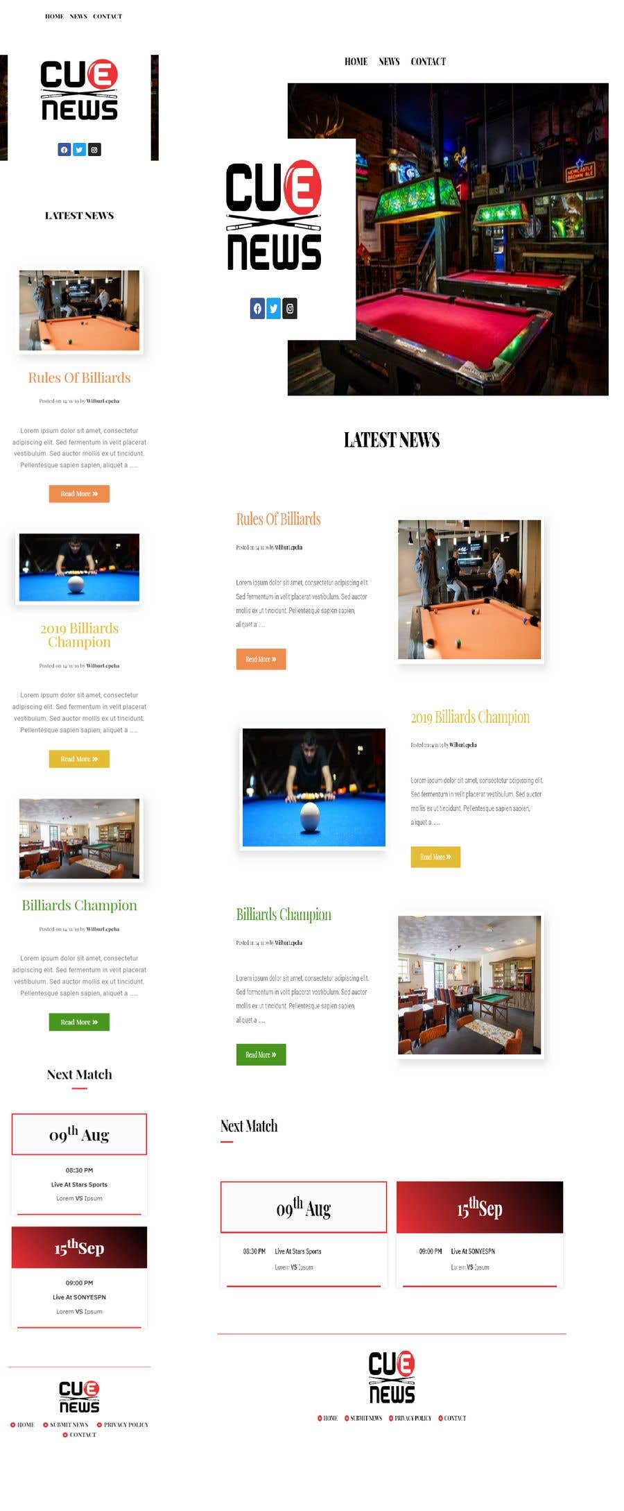 Entry 8 By Wilburlepcha For Homepage Design For Blog