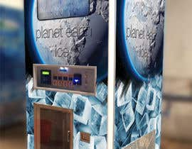 #7 for Graphic design for skin of Ice Vending Machine af donov