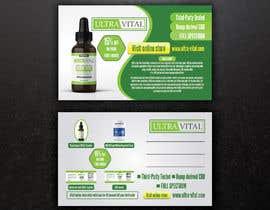 #49 para Create flyers/postcards for my CBD oil brand por sohelrana210005