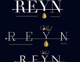 #22 for The name of the company is Reyn. It's a designer clothing company. It's a play off words on Reign(king/queen) and rain (drip/water droplet) af Haripriyasam