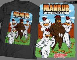 Nro 19 kilpailuun ManRub T-shirt Contest käyttäjältä GribertJvargas