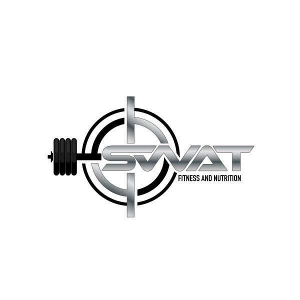 Penyertaan Peraduan #34 untuk SWAT fitness and nutrition logo needed