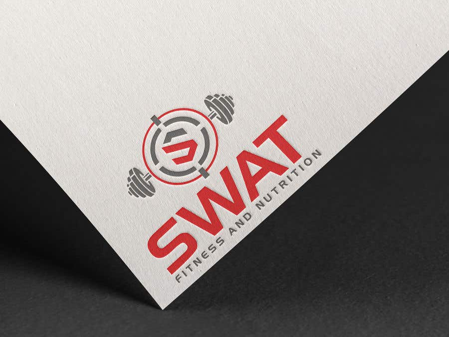 Penyertaan Peraduan #27 untuk SWAT fitness and nutrition logo needed