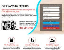#11 for Graphic redesign of landing page by sbsohel234