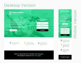 #10 for Graphic redesign of landing page by Craffic
