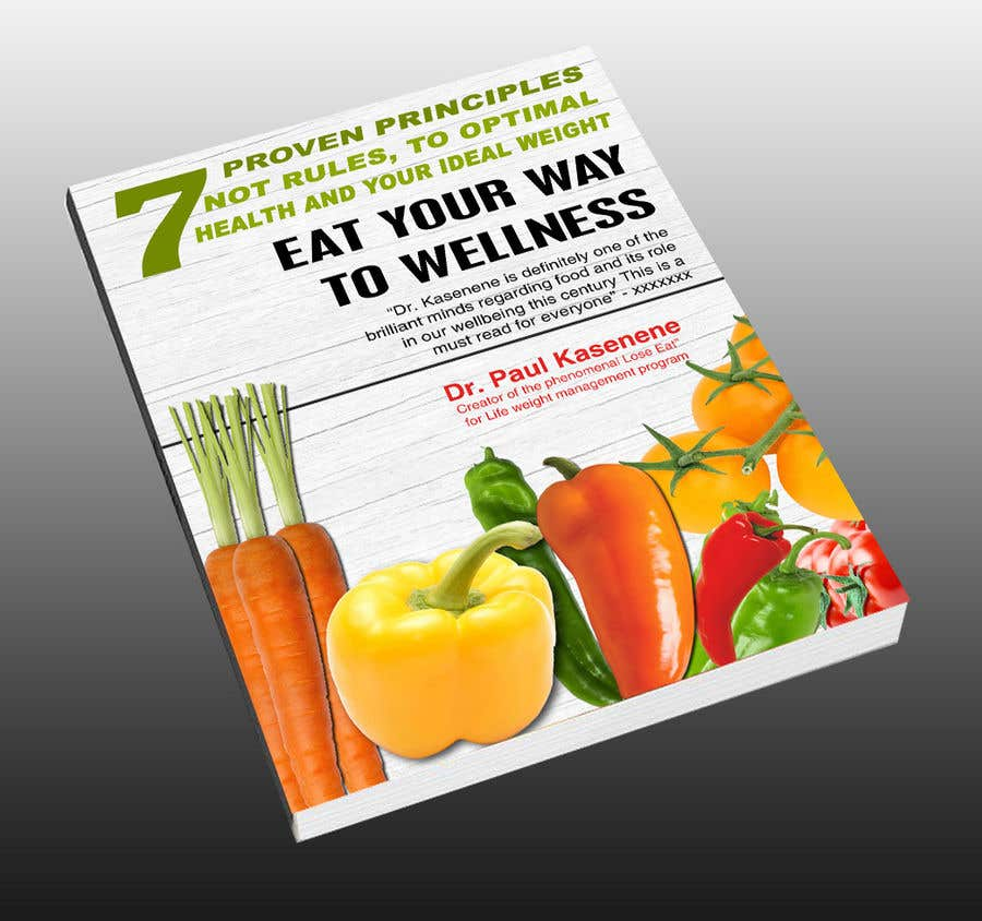 Proposition n°28 du concours Book cover design for a healthy eating book