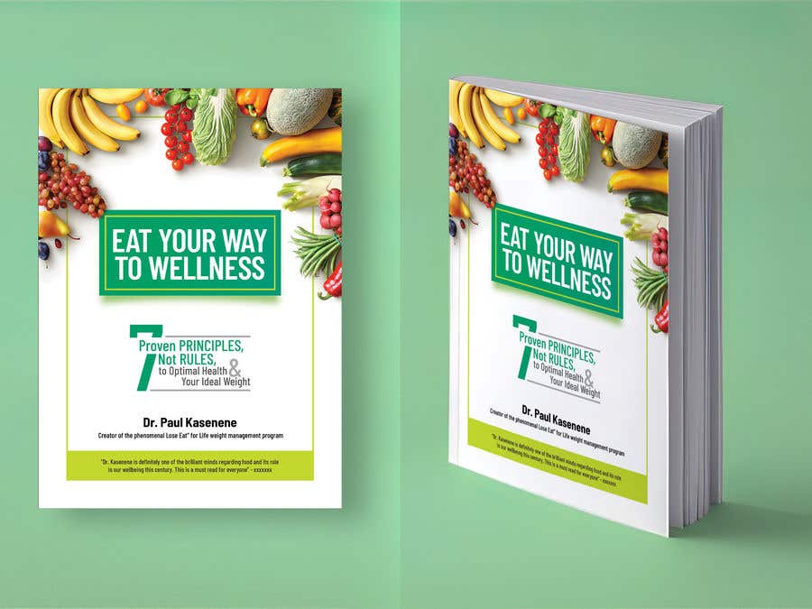 Konkurrenceindlæg #33 for Book cover design for a healthy eating book