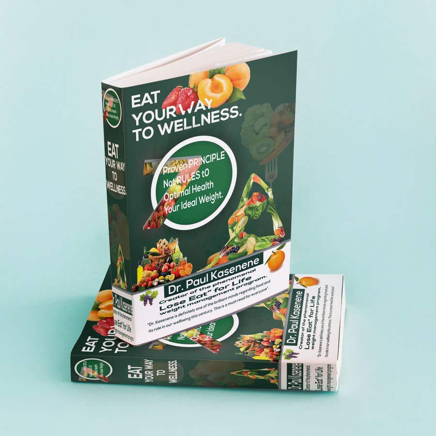 Proposition n°20 du concours Book cover design for a healthy eating book
