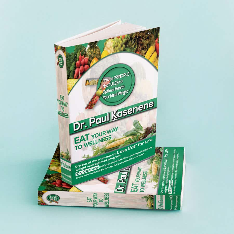 Proposition n°34 du concours Book cover design for a healthy eating book