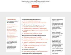 #40 for New Design for existing CFSG Wordpress website by Themeasia