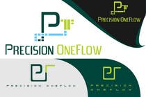 Graphic Design Конкурсная работа №116 для Logo Design for Precision OneFlow the automated print hub