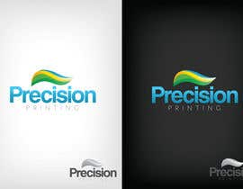 Colouredconcepts님에 의한 Logo Design for Precision OneFlow the automated print hub을(를) 위한 #98