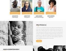 Nro 3 kilpailuun Web site for a non profit organisation käyttäjältä shahalaanjum