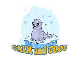 Nro 24 kilpailuun Drawing of a seal and the message calm and cool käyttäjältä Pandred